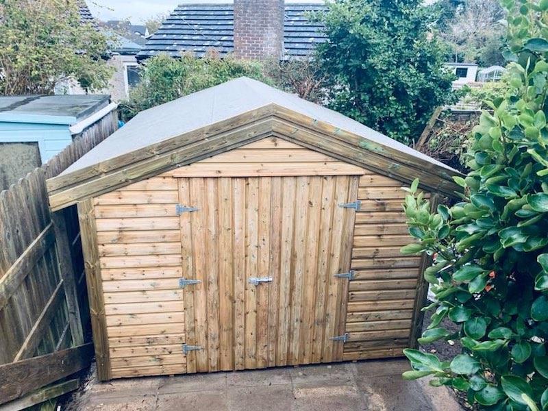 Apex shed no windows
