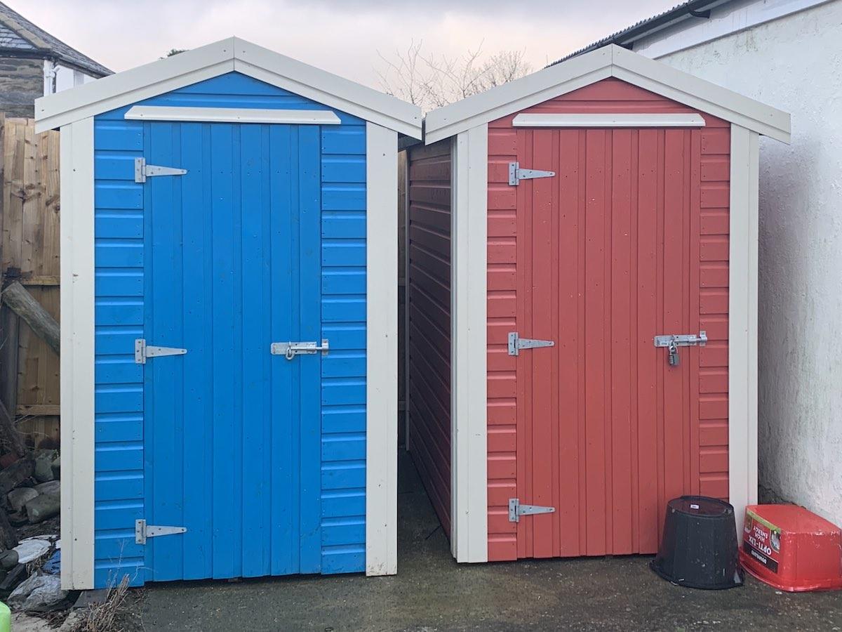 Custom paint sheds Isle of Man