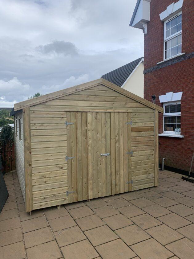 Workshop shed Isle of Man