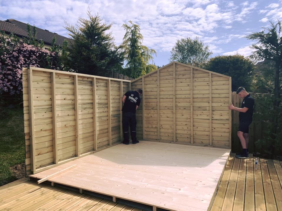 12x11 garden shed