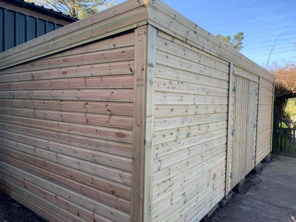 5x3 Pent Shed