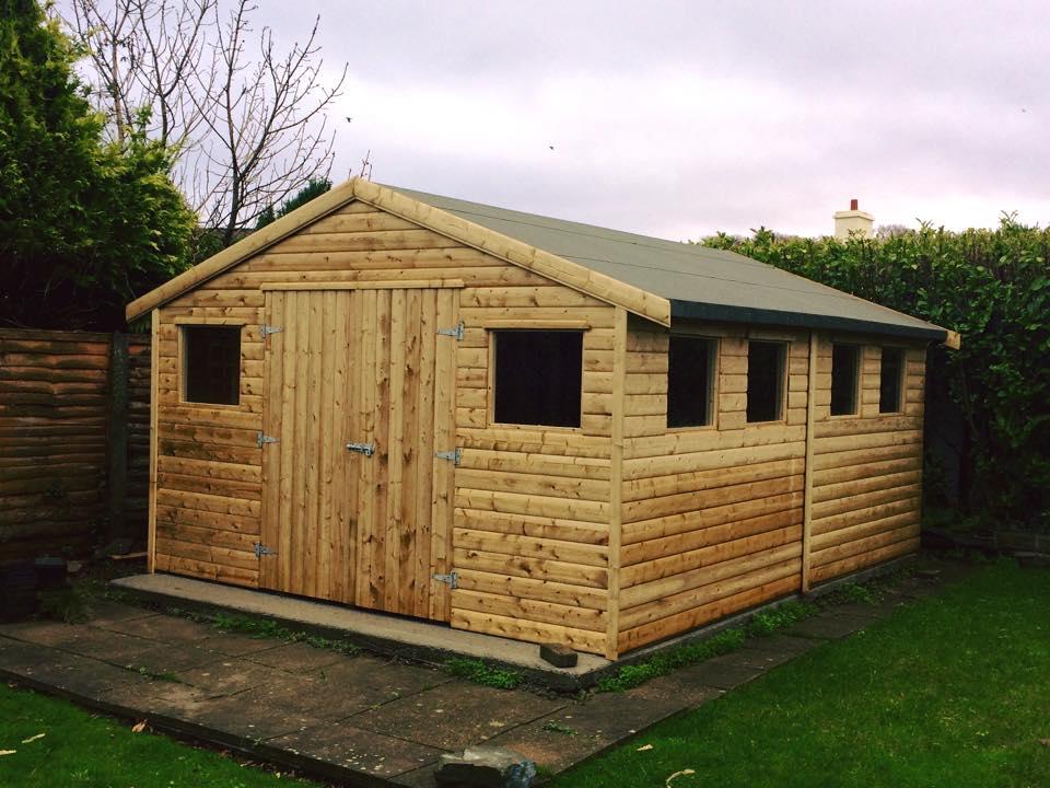 5x3 Tanalised timber shed